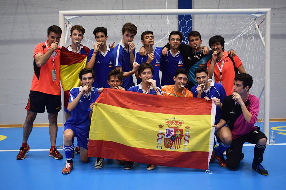 En 2017: Campeones del Mundo FISEC en Fútbol-Sala