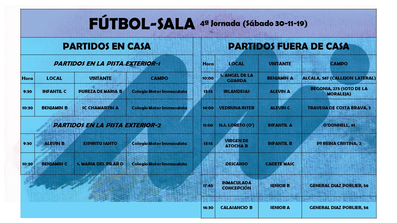 FS cuarta jornada - Blog de deportes