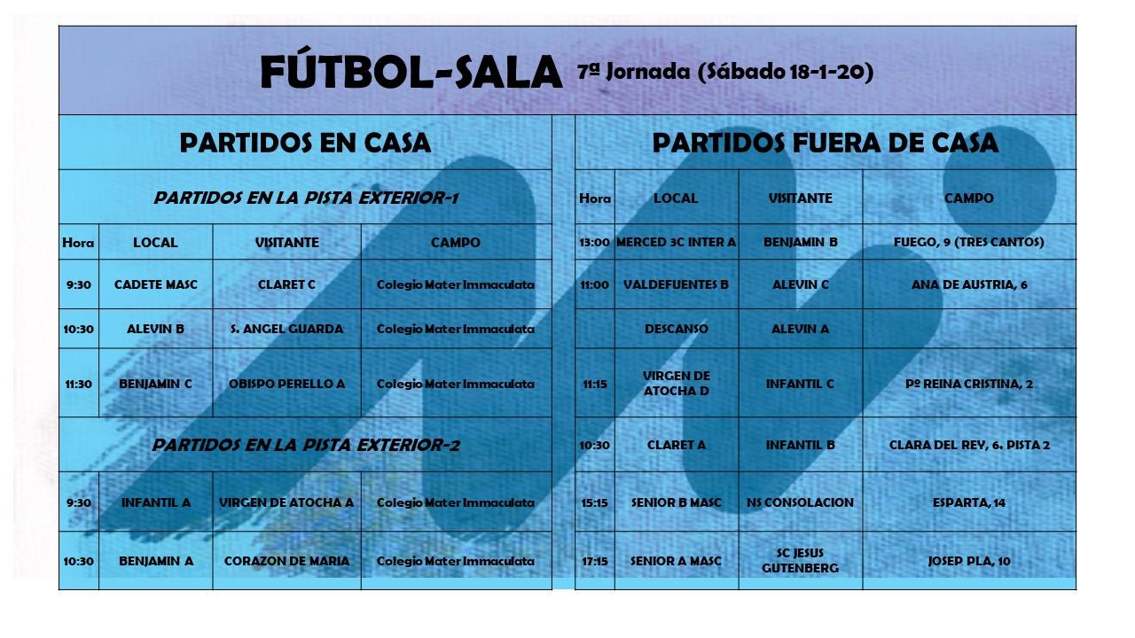 FS séptima jornada - Blog de deportes