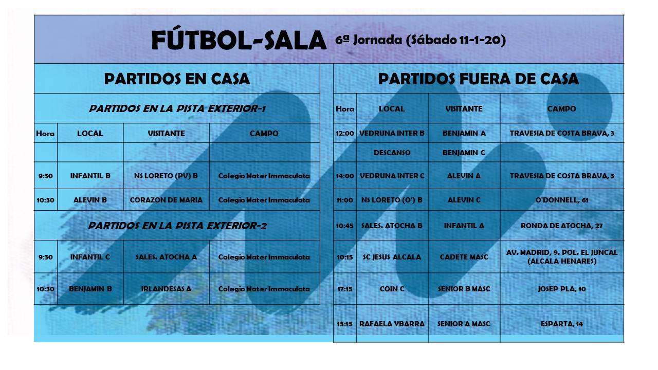 FS sexta jornada - Blog de deportes