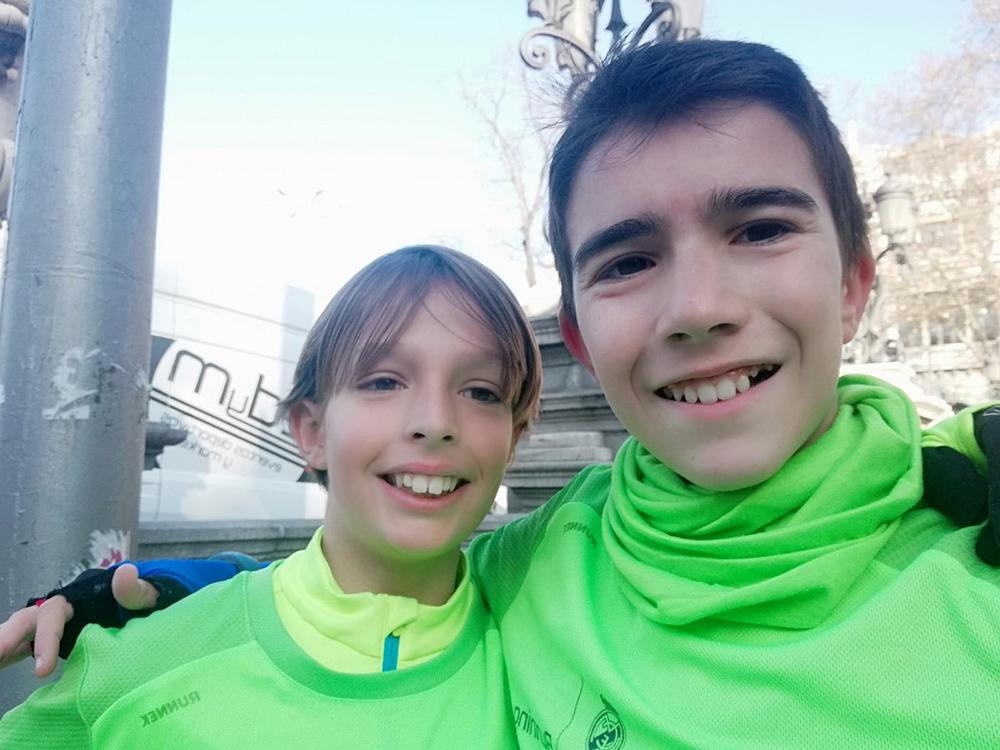 Rubén y Manuel - Carrera Fundación Real Madrid