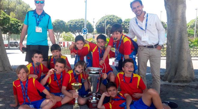 Subcampeones de España - Fútbol sala alevín
