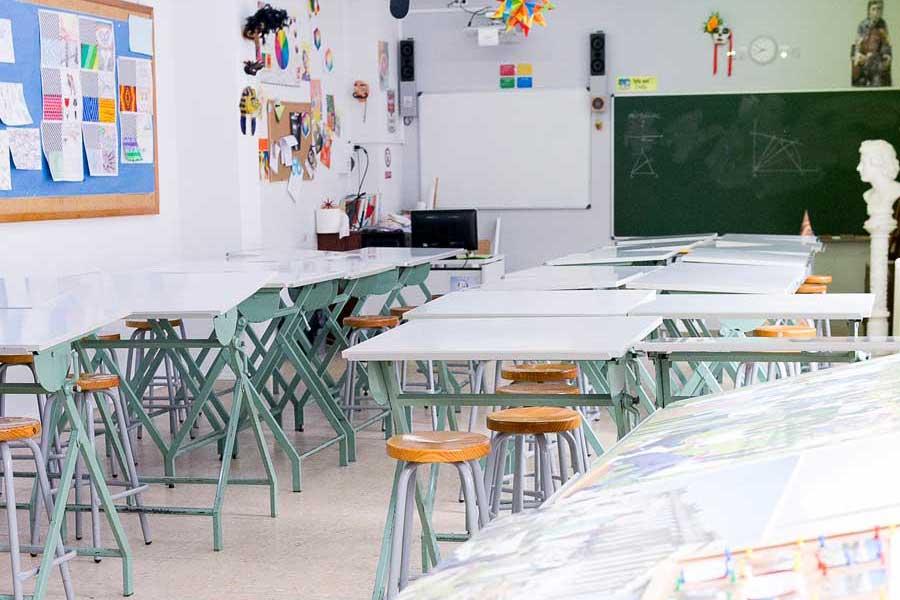 Instalaciones - Aula artística Colegio Mater 2