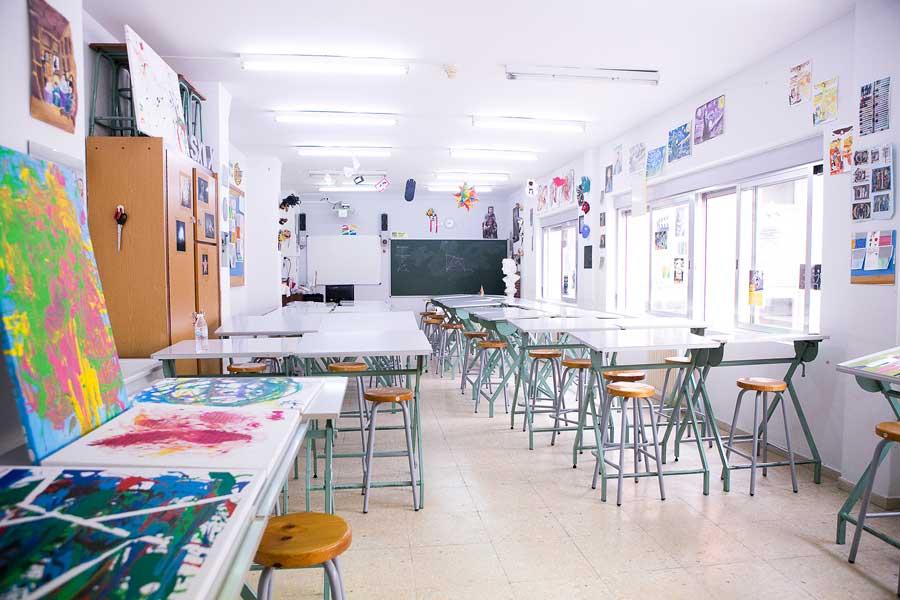 Instalaciones - Aula de dibujo y pintura Mater Immaculata