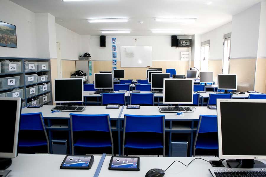 Instalaciones - Aula informática Colegio Mater 2