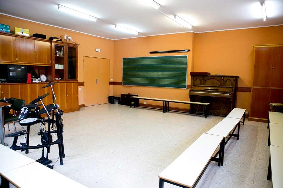 Instalaciones - Aula de música Colegio Mater