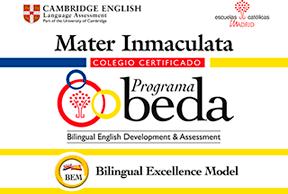 Mater Immaculata - Centro certificado Programa BEDA