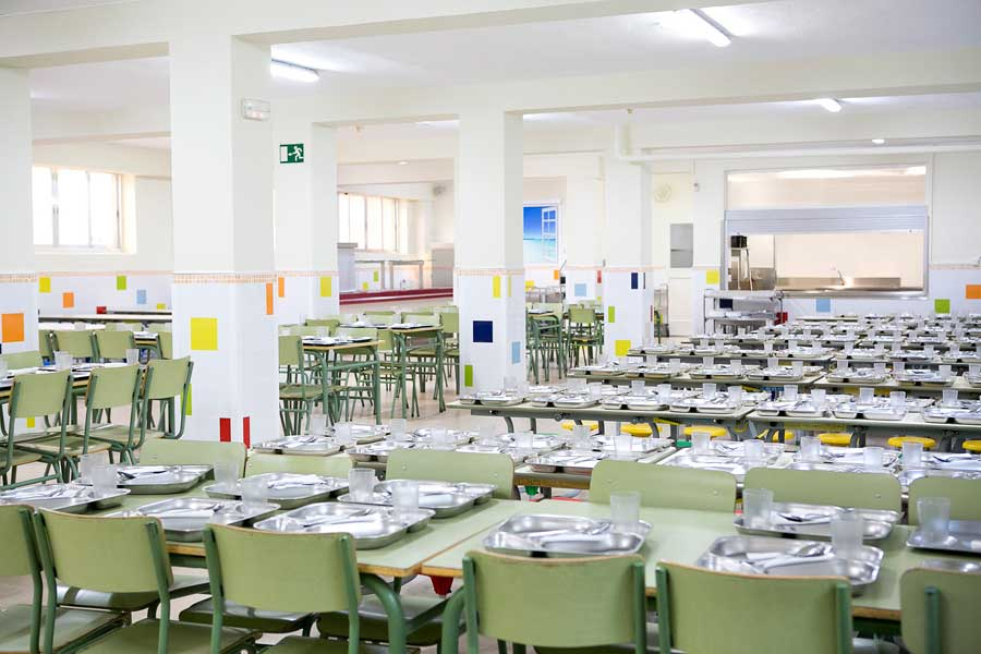Menús del comedor - Colegio Mater