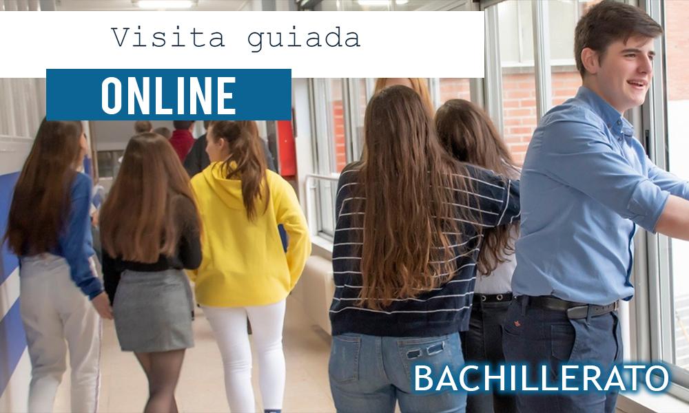 Visita guiada online Bachillerato - Colegio Mater