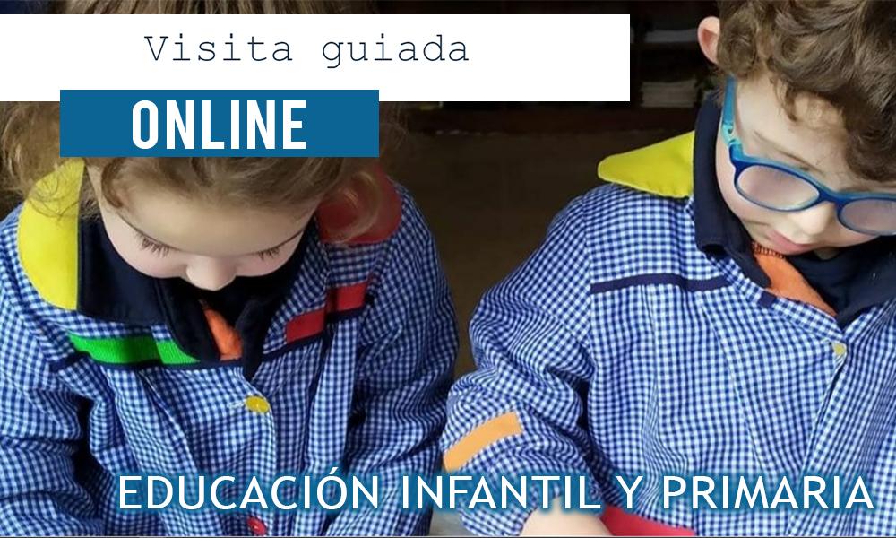 Visita guiada online Educación Infantil y Primaria - Colegio Mater