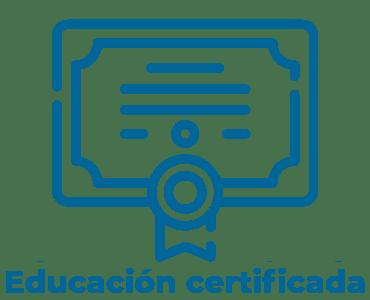 Educación con certificado de calidad